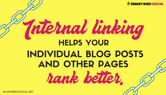 Blogging SEO Benefits You Don't Want to Overlook - Internal linking