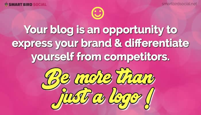 Blogging Business Goals to Improve Your Content Strategy - Establish Your Brand