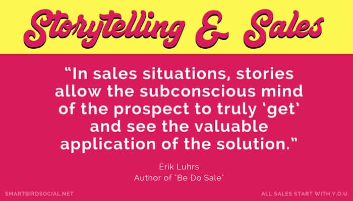 What to Blog About for Small Business to Increase Sales - Tell Personal Stories In Your Own Voice