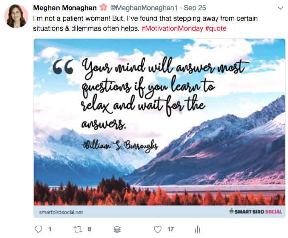 Using quotes in your social media content strategy