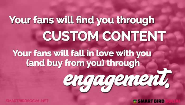 Content paired with engagement improve conversion
